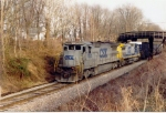 CSX 7502 heads mixed freight
